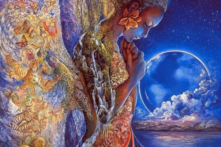 Человек, полный любви, находится в раю